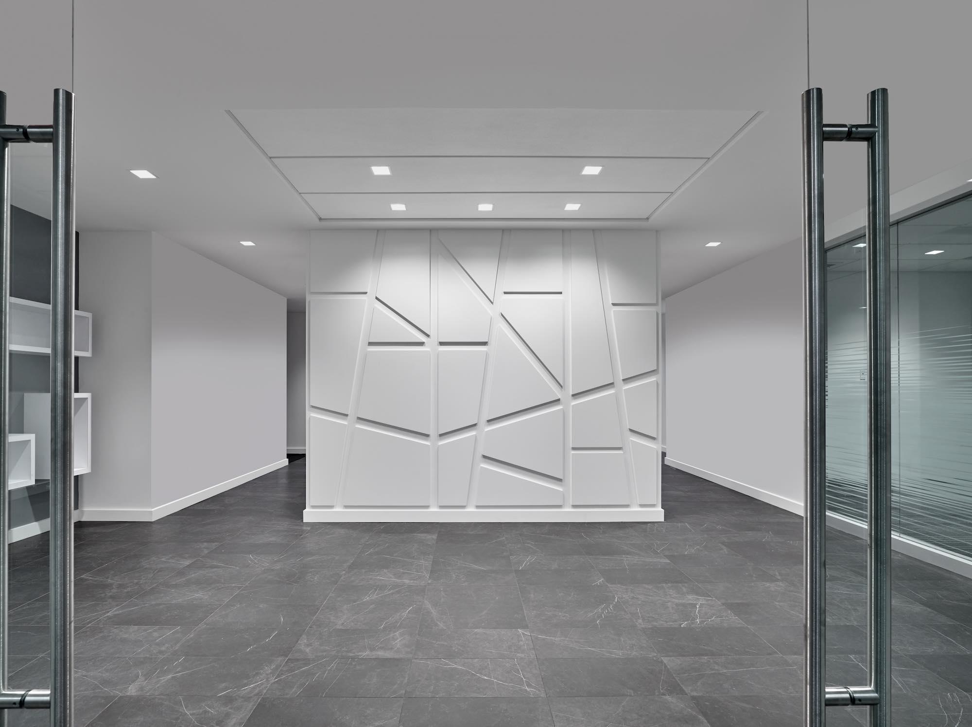 Investedge Wall by Flatiron Building Co Philadelphia